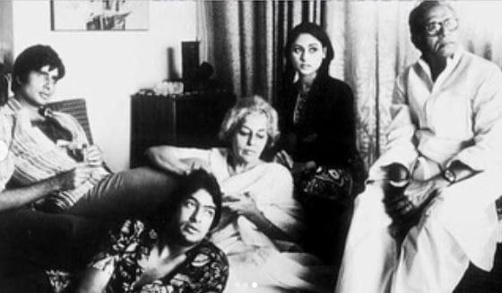 Amitabh Bachchan's Mother Teji Bachchan