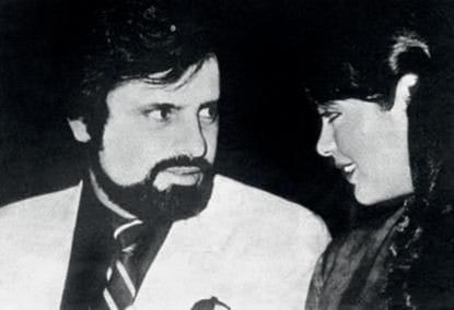 Sanjay Khan and Zeenat Aman
