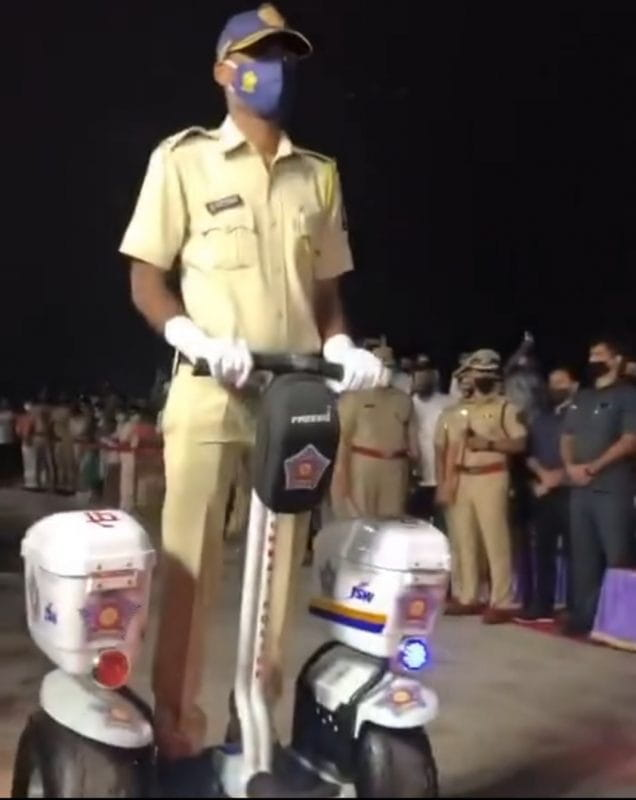Electric Scooter Mumbai Police