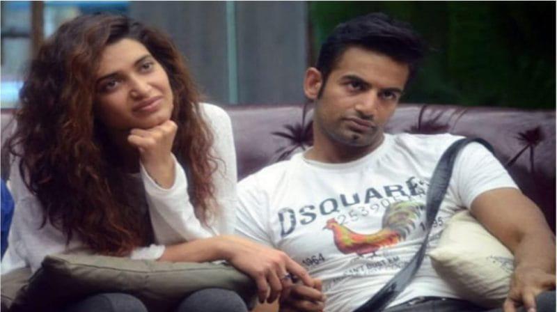 Upen Patel and Karisma Tanna