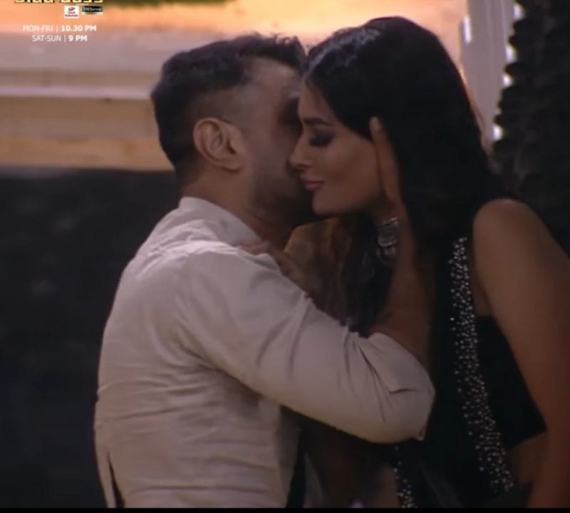 Ejaz khan and Pavitra Punia