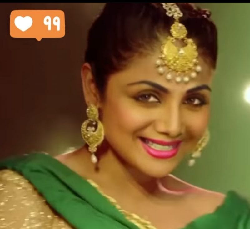 Shilpa's 'Punjabi Look