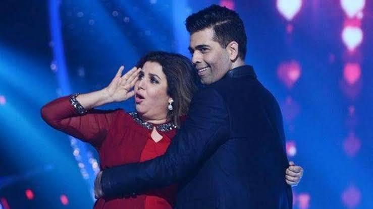 Farah Khan and Karan Johar