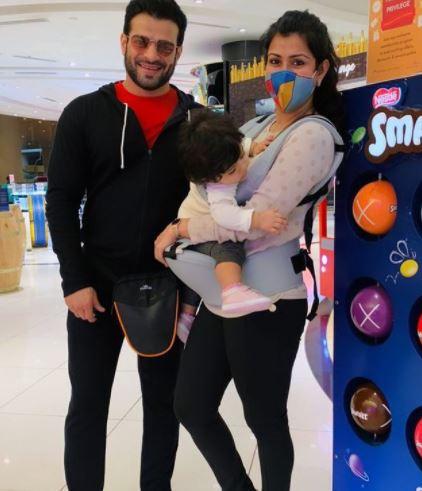 Karan Patel With Family
