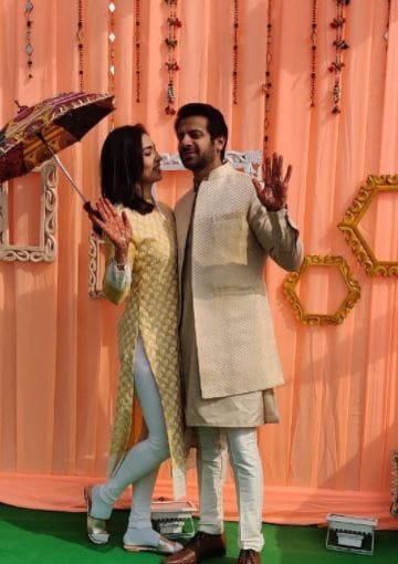 Karan Veer Mehra and Nidhi Seth