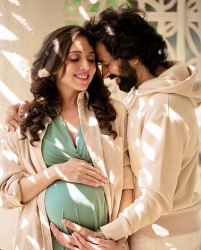 Nakuul Mehta and Jankee Parekh