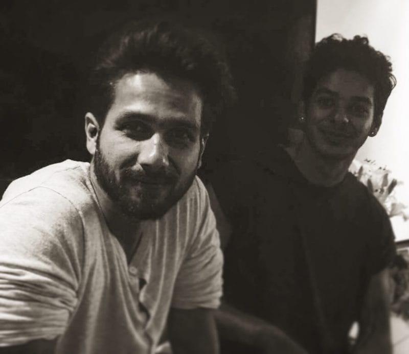 Shahid Kapoor and Ishaan