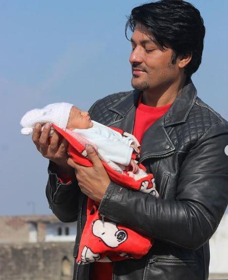 Anas Rashid's Baby Boy