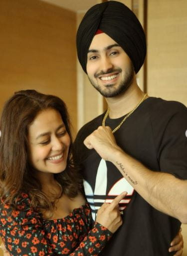 Neha Kakkar and Rohanpreet