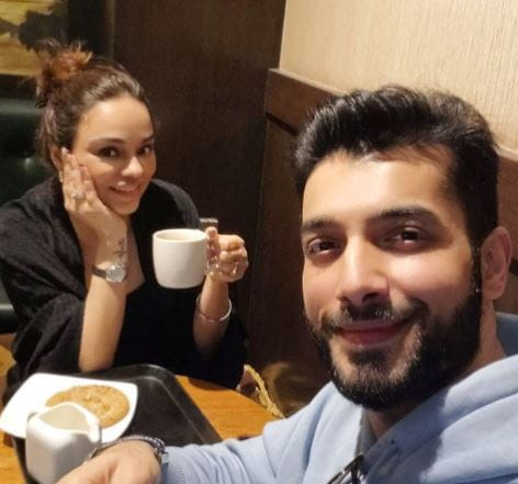 Sharad Malhotra With Wife Ripci Bhatia