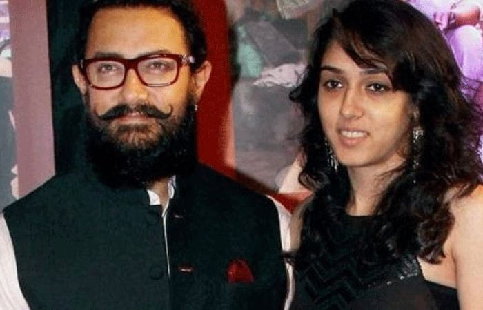 Aamir and Ira Khan