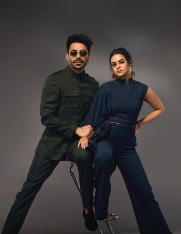 Aparshakti Khurana and wife Aakriti