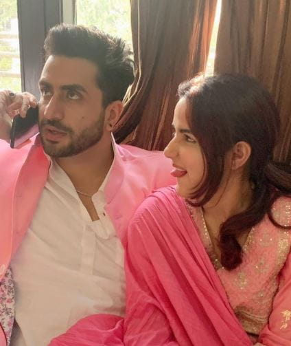 Jasmin Bhasin with Aly Goni