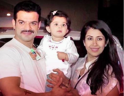 Ankita Bhargava With Family