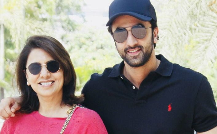Ranbir Kapoor and His Mother