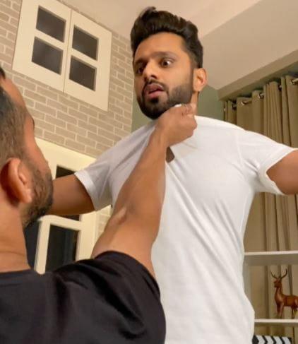 Rahul Vaidya and Rohit Reddy Fight
