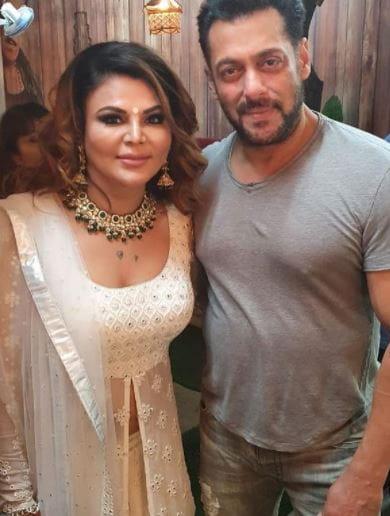 Rakhi Sawant and Salman Khan