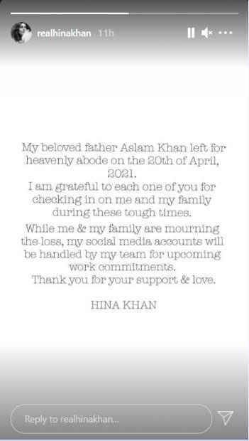 Hina Khan