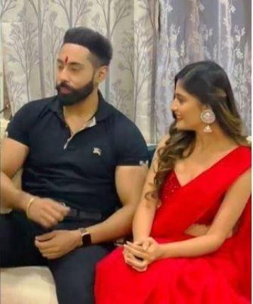 Vaishali Takkar with Dr. Abhinandan Singh