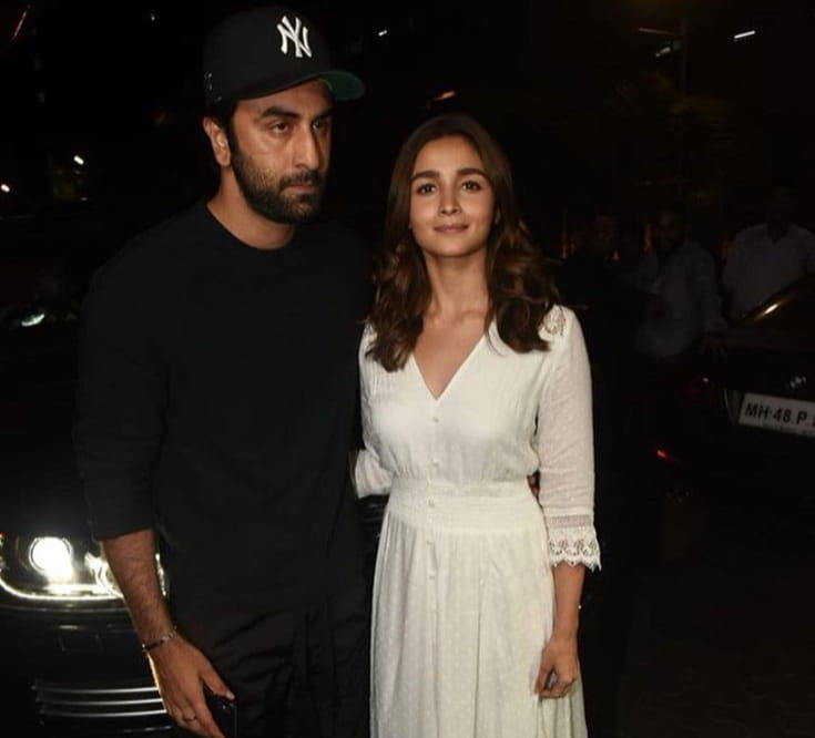 Alia Bhatt and Ranbir