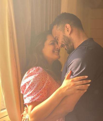 Anita Hassanandani and Husband Rohit Reddy