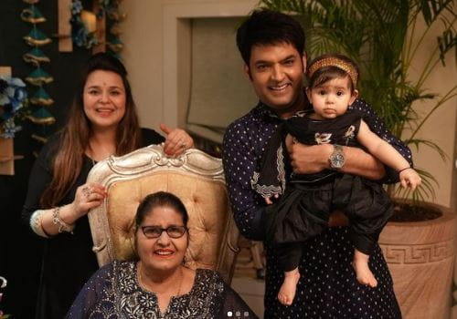 Kapil Sharma Family