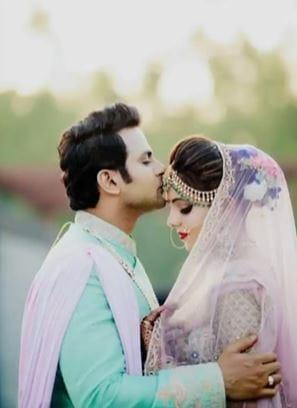 Sanket Bhosale and Sugandha Mishra
