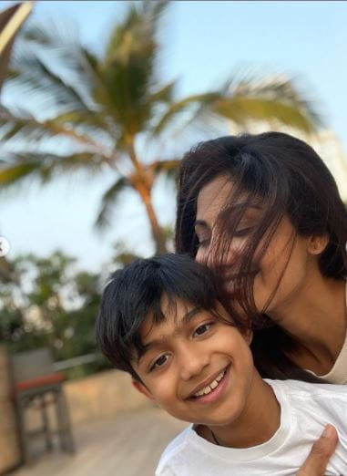 Shilpa Shetty and Son Viaan