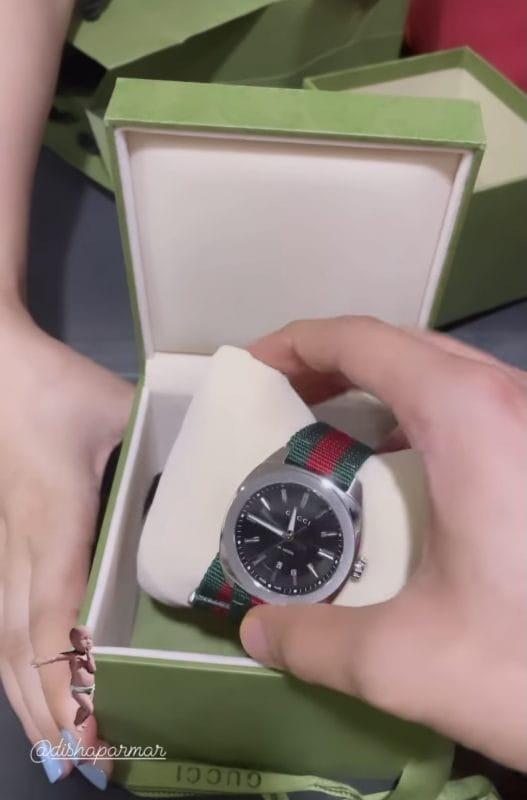 Rahul Vaidya Luxury Watch Gift