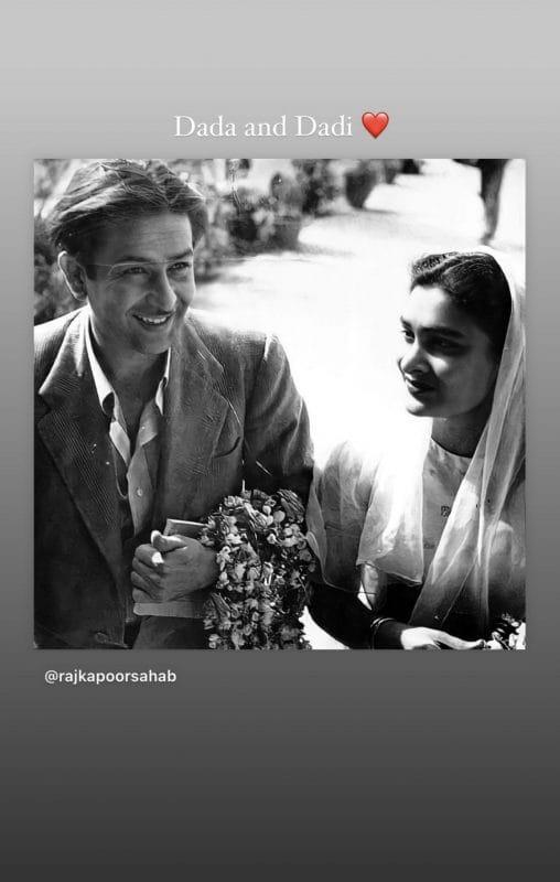 Karisma Kapoor's Dada and Dadi