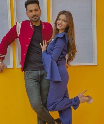 Abhinav Shukla and Rubina Dilaik