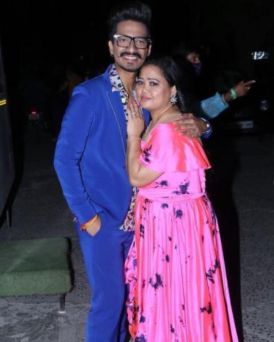 Harsh Limbachiya and Bharti Singh