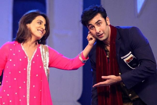 Neetu Kapoor with Ranbir Kapoor