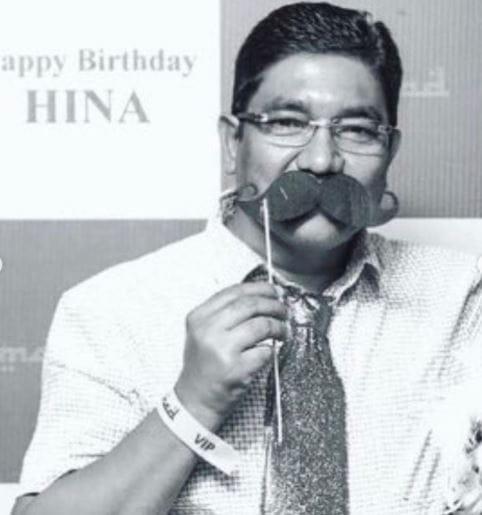 Hina Khan's Father