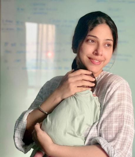 Aditi With Son Ekbir