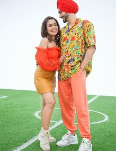 Neha Kakkar And Husband Rohanpreet Singh