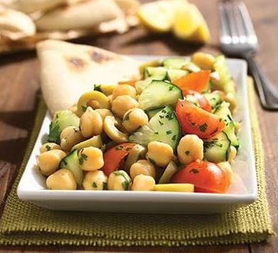 Beetroot-Chickpeas Salad