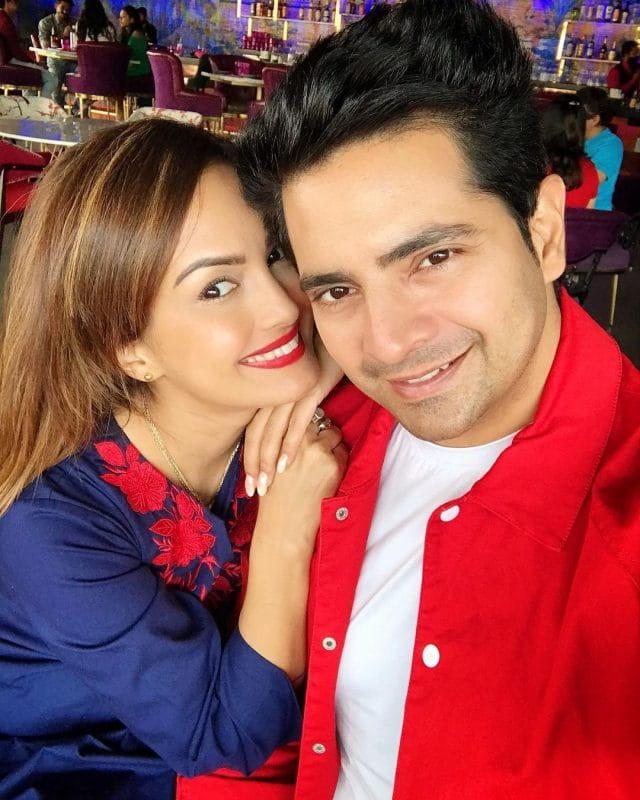 Karan Mehra and Wife Nisha Rawal