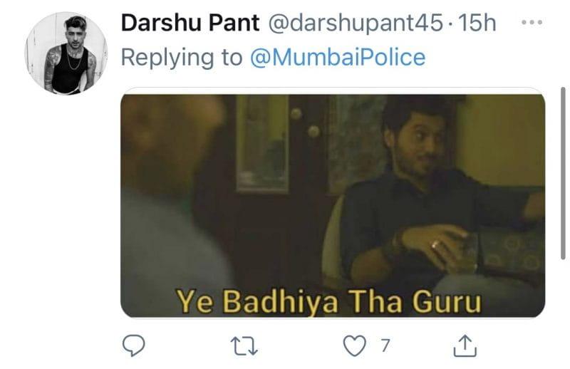 Mumbai Police Post