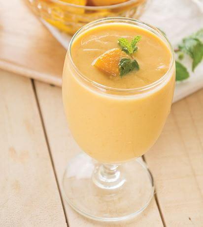 Mango-Banana-Fig Smoothie