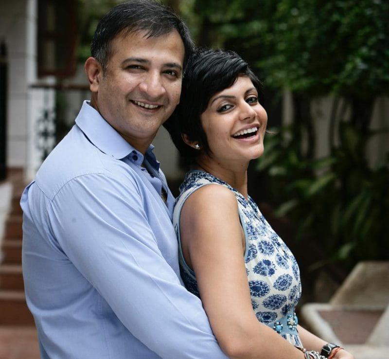 Mandira Bedi With Raj Kaushal