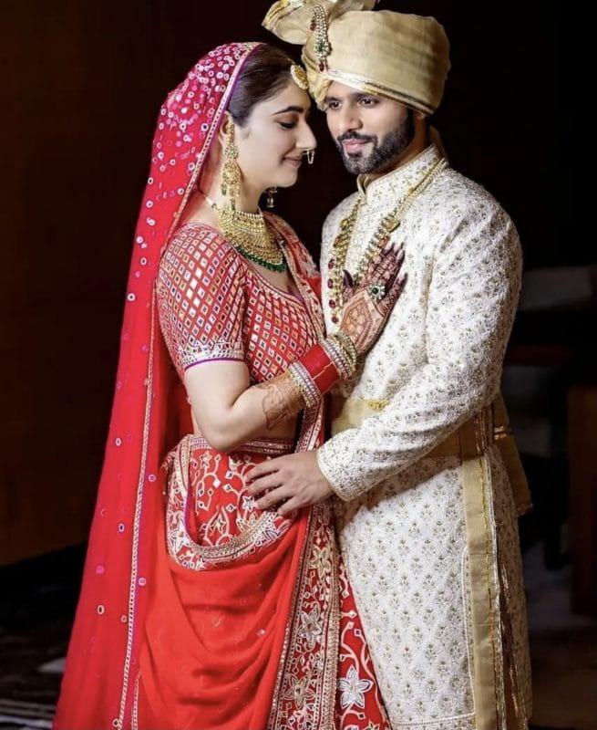 Rahul Vaidya Weds Disha Parmar