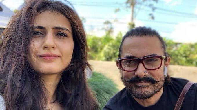 Aamir Khan and Fatima