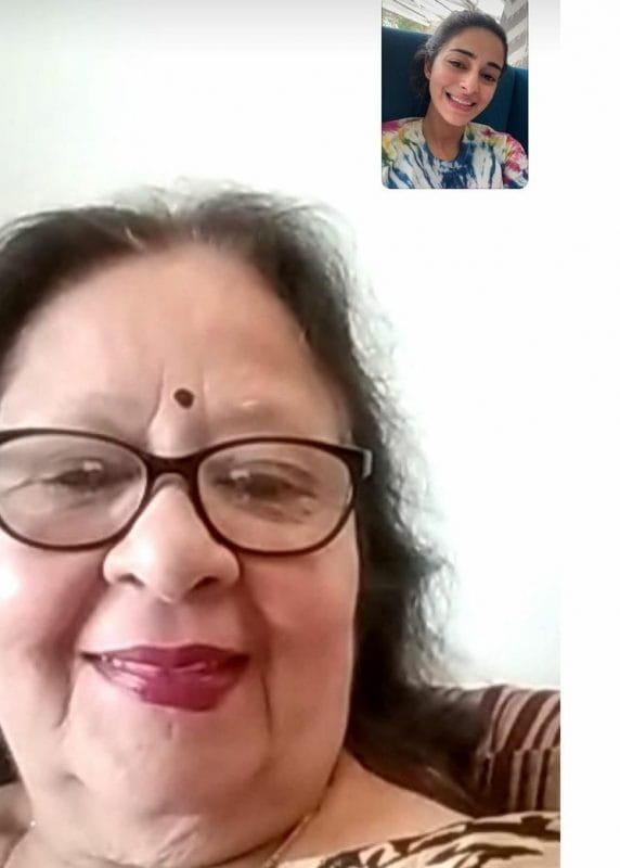 Ananya Panday's Grandmother