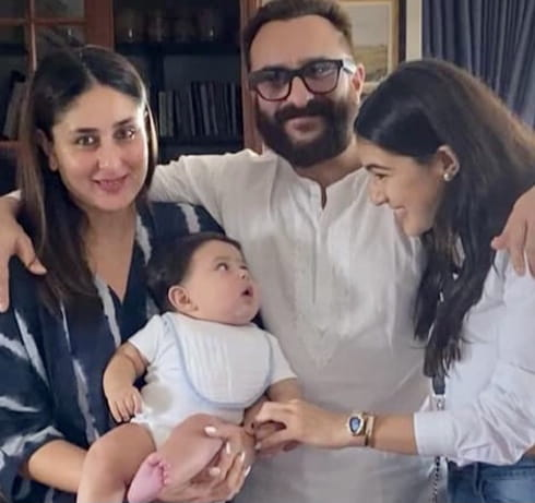 Kareena Kapoor, Saif Ali Khan's Son