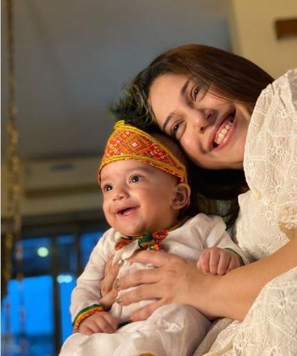 Mohit Malik and wife Aditi
