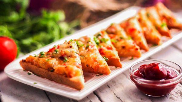 Chilli Cheese Masala Toasties
