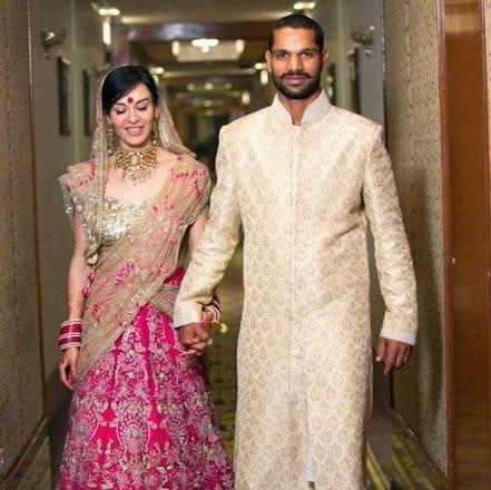 Shikhar Dhawan and Aesha