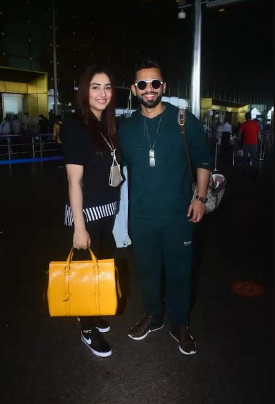 Rahul Vaidya And Disha Parmar