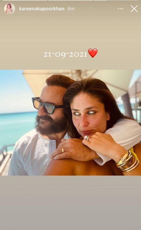 Kareena Kapoor With Husband Saif Ali Khan